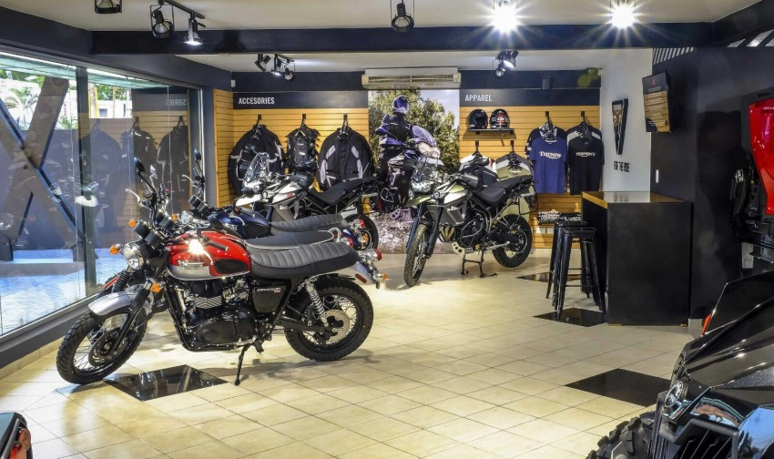 global x sports - triumph motorcycles in dominican republic